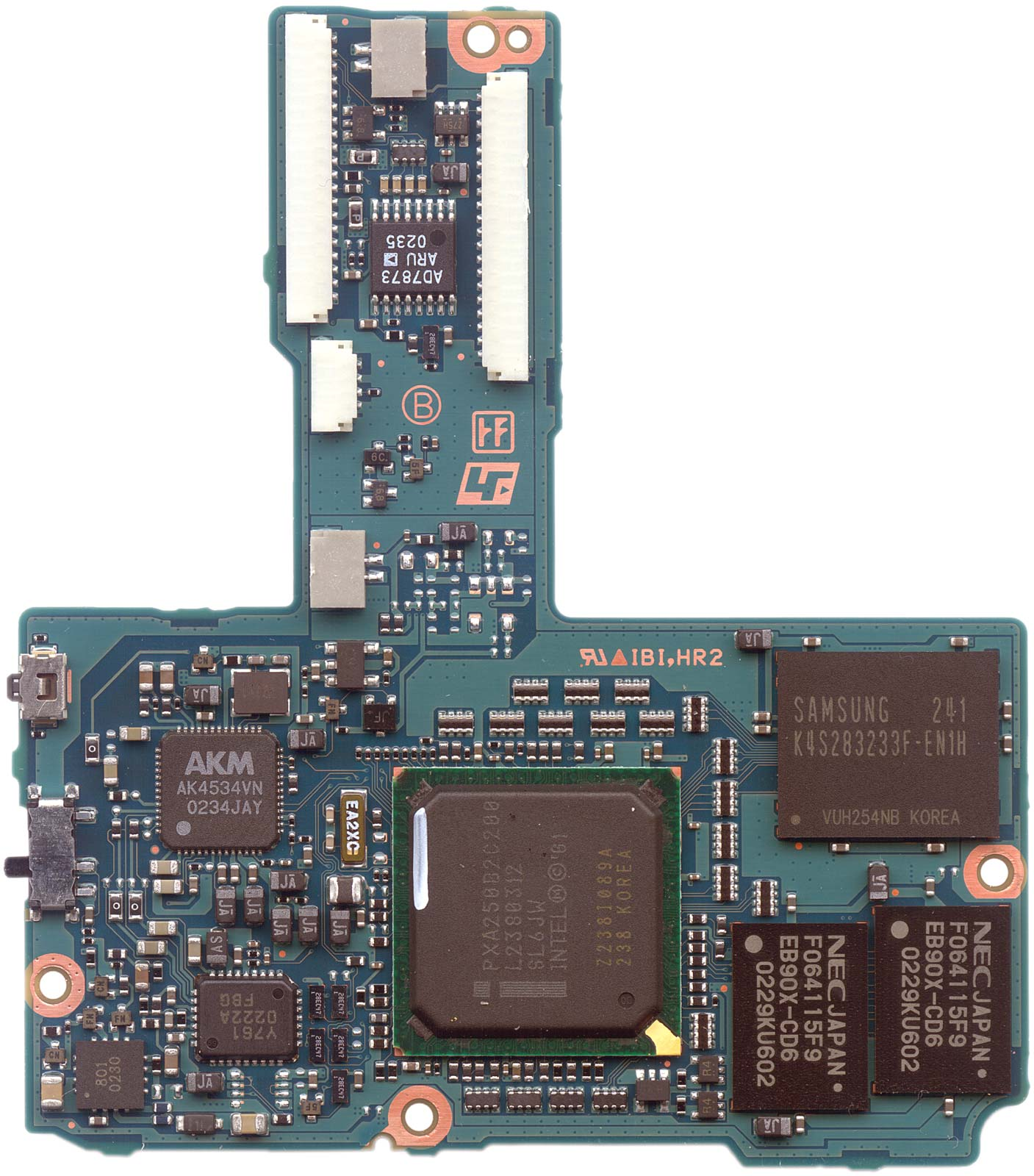 Ppp Clie Nx70v Touch Diagram Ad7873 Block Main Board 2